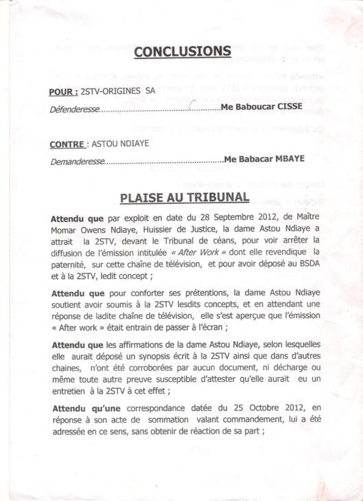 """Entretien - Astou Ndiaye: """"Comment la 2Stv m'a chipé 'After Work'"""""""