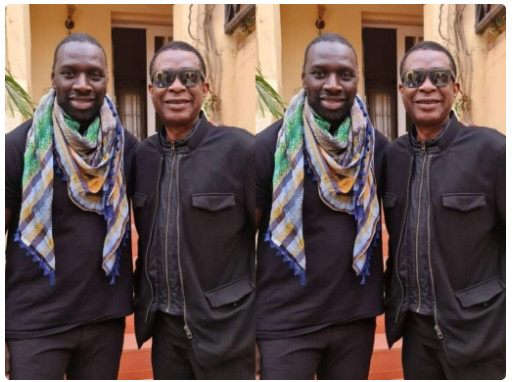 Après Macky Sall et Alioune Sarr, Youssou Ndour s'affiche avec l'humoriste Omar Sy