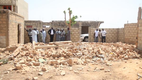 Thiès Mbour 4: La partie la plus convoitée démolie, des autorités ont des maisons pied dans l'eau