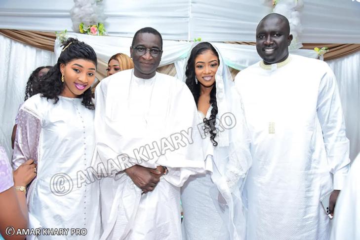 Les images du mariage de Gap borom Paris et la fille du ministre Samba Sy  (Photos-Retro)