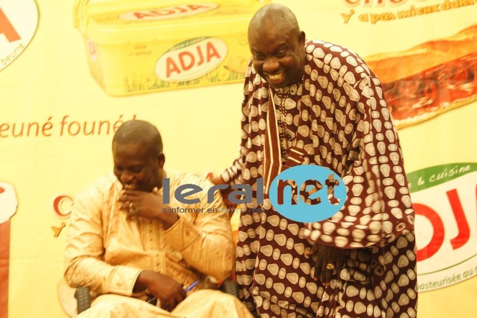 Entre Aziz Ndiaye et Mamadou Mbaye Garmi, ça rigole