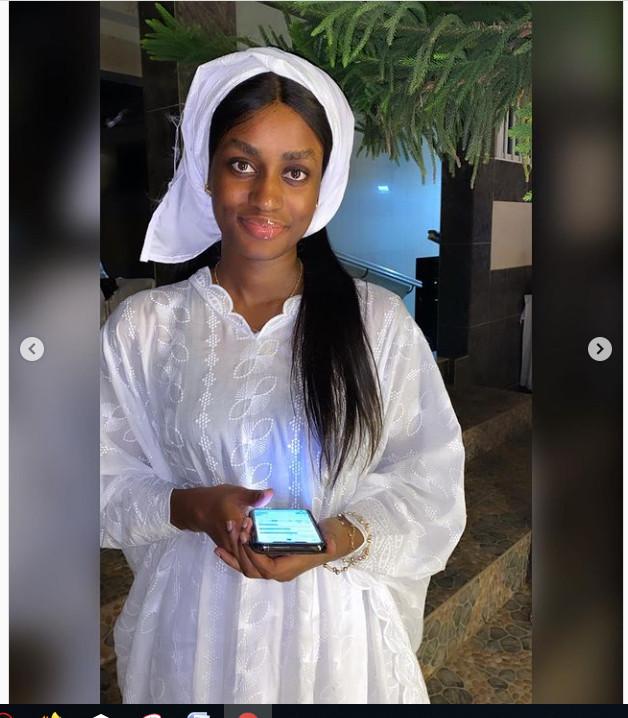Quand la petite sœur de Wally Seck, Aïcha rend hommage à tous ses boubous qu'elle ne portera sûrement plus. Regardez !