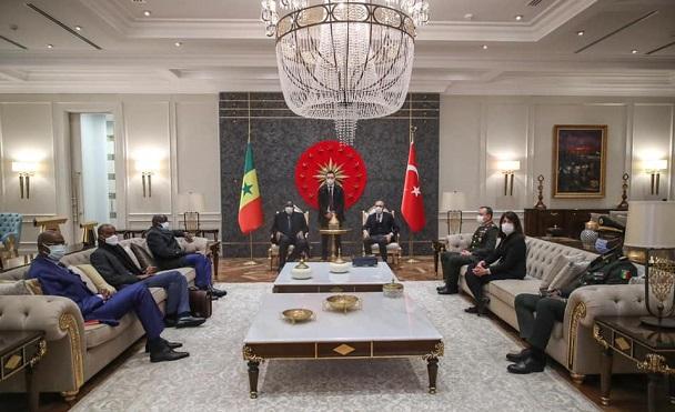 Visite de travail en Turquie : Macky Sall et Embalo reçus par Erdogan à Istanbul