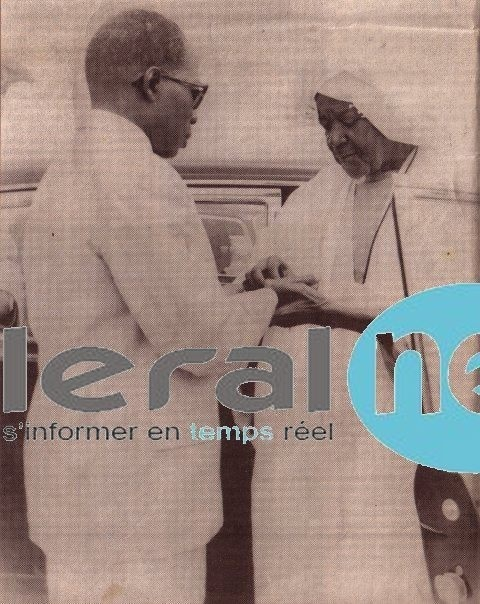 Le Président Léopold Sedar Senghor, l'ami de Serigne Fallou Mbacké
