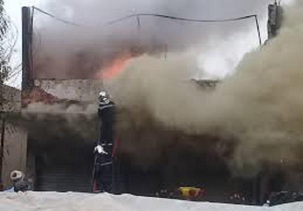 Incendie de soufre aux ICS: Un week-end de panique à Mboro, Darou Khoudoss, Tivaouane et environs
