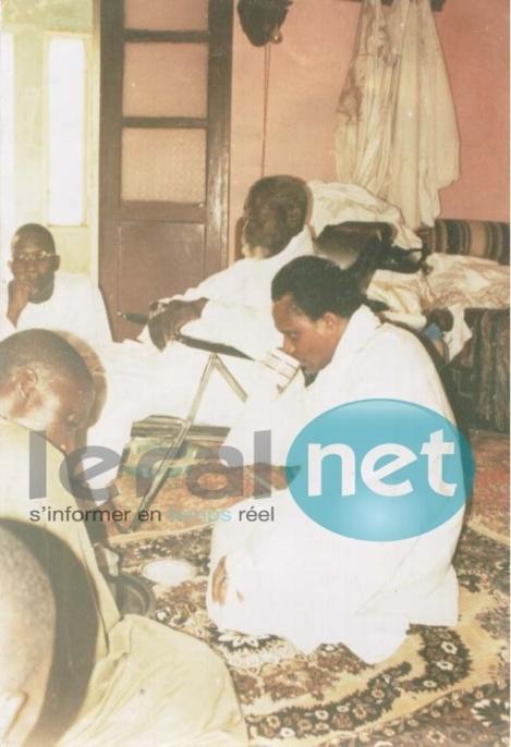 [Photo souvenir] Serigne Saliou Mbacké, Serigne Modou Kara et Ibrahima Sall