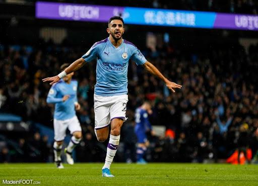 Riyad Mahrez entre encore plus dans l'histoire de la Premier League