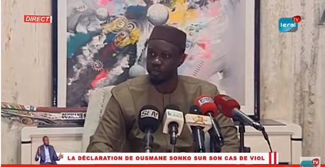 Accusé de viols répétés et de menaces de mort: Ousmane Sonko charge Macky Sall