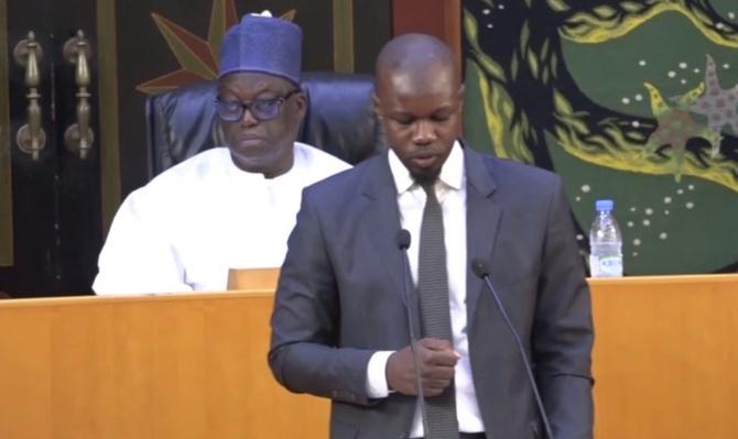 Prise en charge de 80%  de l'Assemblée nationale - Et le mal de dos de Sonko?