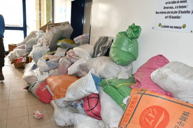 Plastiques prohibés - Saisie de 75 tonnes, dont 09 dans une industrie de fabrique