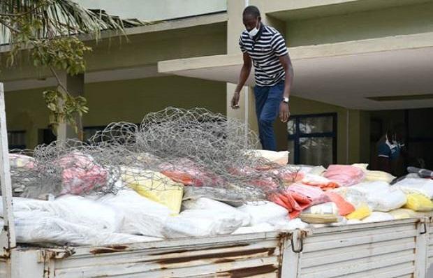Menace sur l'Environnement : Une quantité importante de produits plastiques prohibés, saisie à Dakar