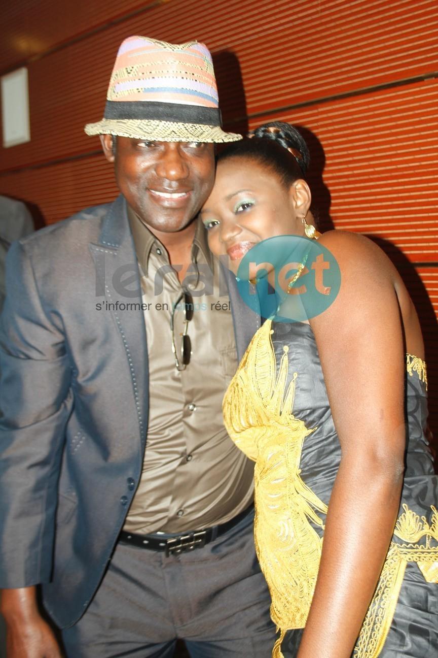 Fama Thioune très à l'aise avec Idrissa Diop