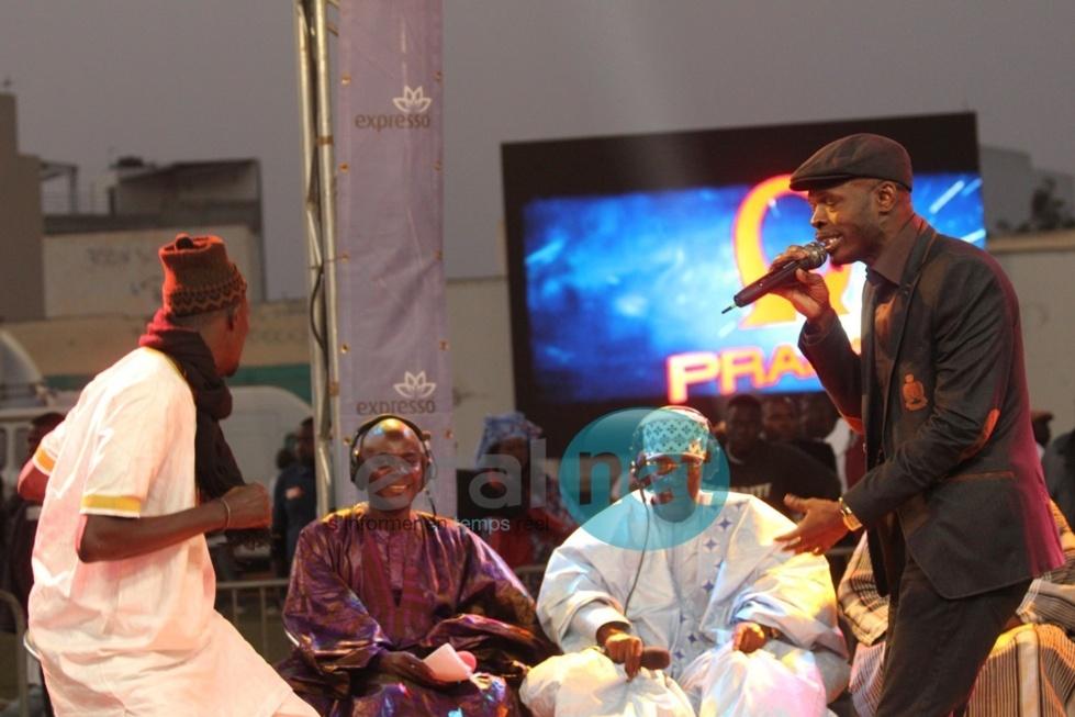 Le chanteur Pape fait vibrer le lutteur Yawou Dial