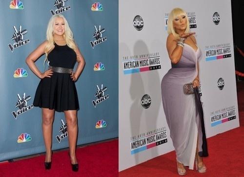 Christina Aguilera a perdu du poids pour pouvoir se marier