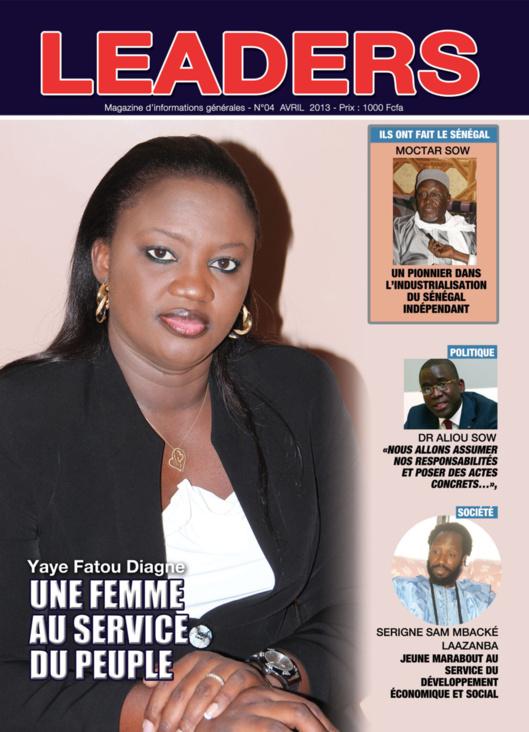 En exclusivité : Voici la couverture de votre magazine LEADERS N°4