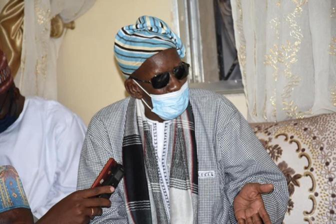 Kaolack :Décès de Serigne Mansour Mamoune Niass. Oumar Gueye a présenté les condoléances du Chef de l'Etat et de son gouvernement.