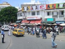 Journée « rouge » à Sandaga : les commerçants protestent contre les déguerpissements