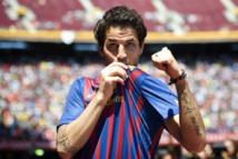 Cesc papa en plein match hier Barça-PSG (1-1)