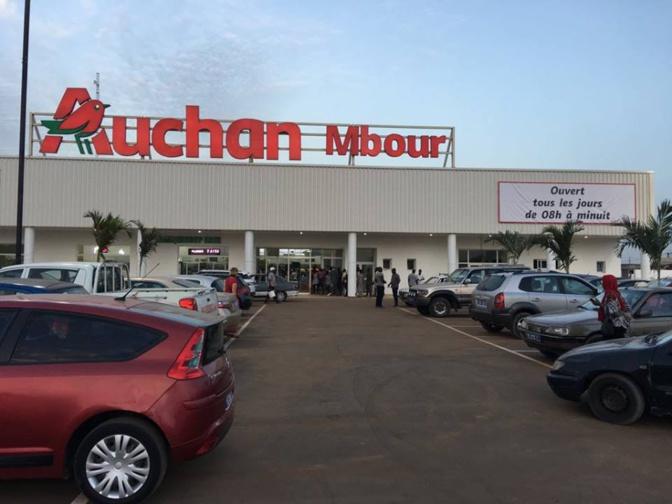 """Menaces """"des black blocks"""" de Pastef: Auchan Mbour sous haute surveillance policière"""