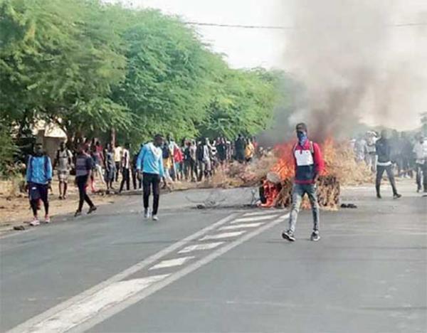 Kolda : A Saré Bilaly, les populations manifestent contre les accidents fréquents