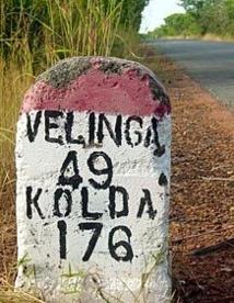 Le mouvement « Vélingara souffre » en action…