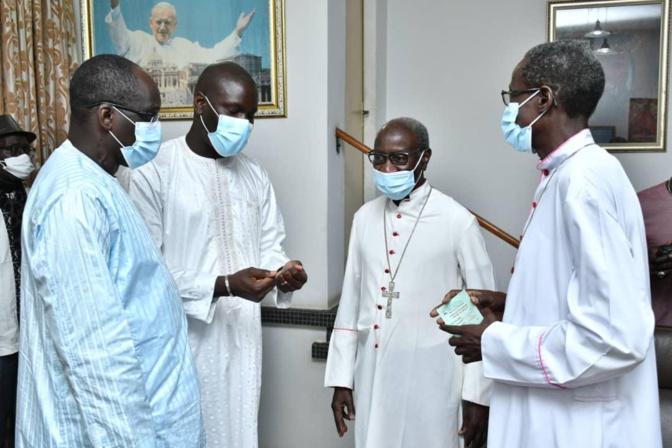 Vaccin contre la Covid-19: Le Cardinal Théodore Adrien Sarr a pris sa dose ce vendredi (Photos)