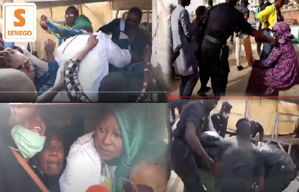 Elan de solidarité: Des femmes de l'opposition dénoncent l'arrestation de militantes de Pastef