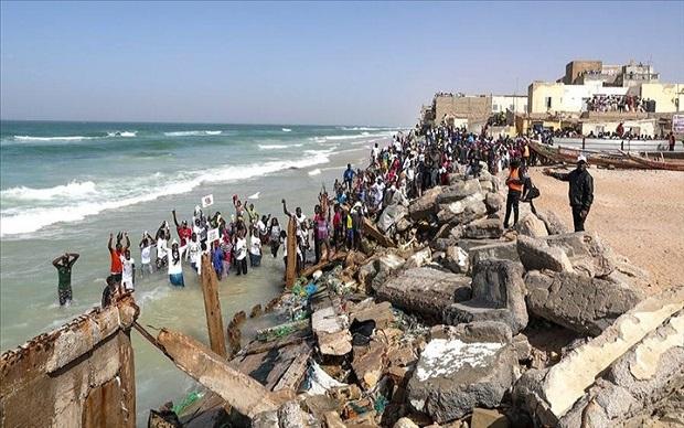 Relogement des sinistrés de la Langue de Barbarie: Le préfet de Saint-Louis salue le travail de l'Adm