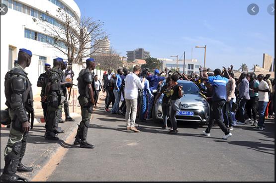 Audition de Ousmane Sonko: Le Tribunal sous haute surveillance