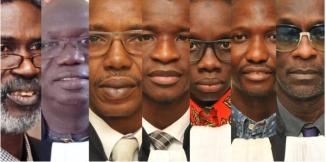 Tribunal de Dakar: Les avocats de Sonko dans le bureau du juge