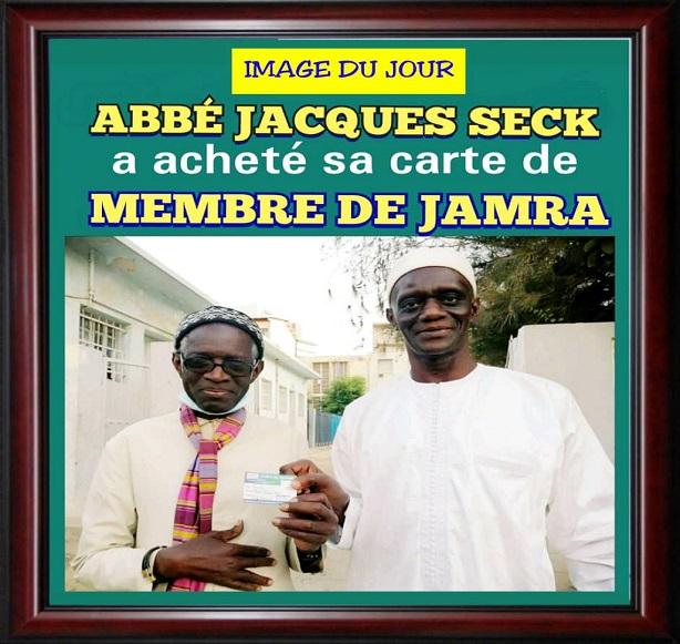 Un membre de marque à Jamra: Prêtre-Musulman et un Imam-Chrétien, Abbé Jacques Seck adhère