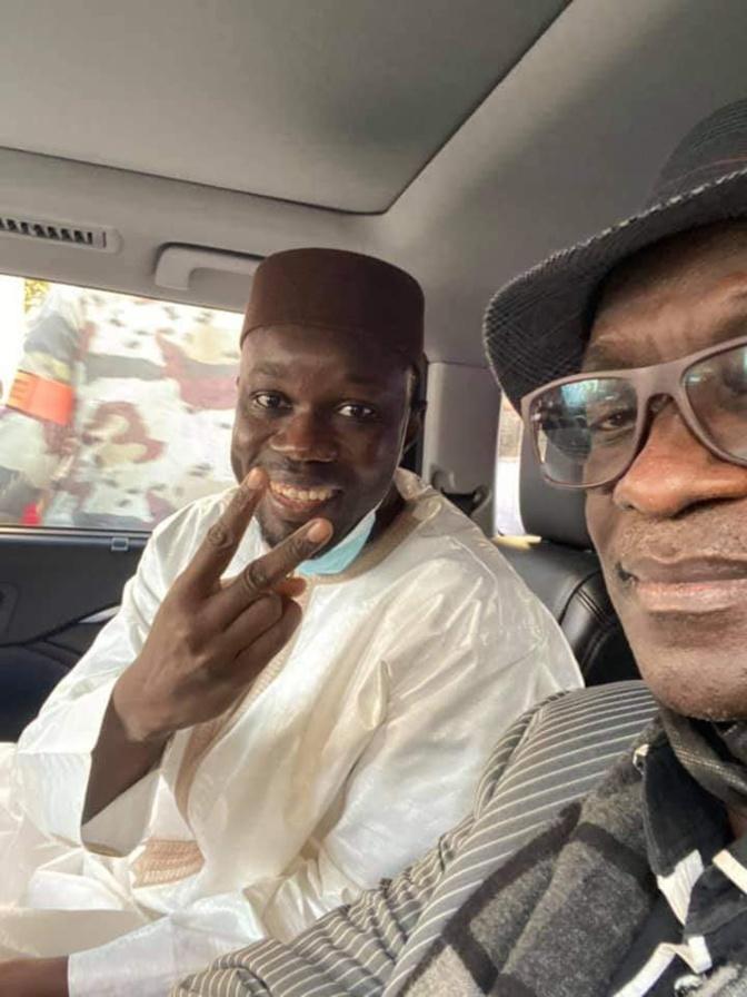 Ousmane Sonko arrêté pour trouble à l'ordre public et...