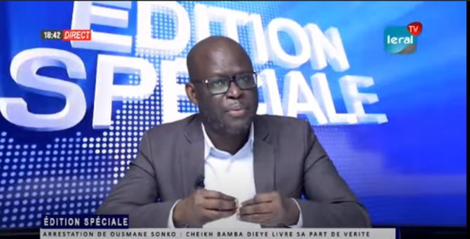 """Cheikh Bamba Dièye: """" Les péripéties et les tentations qui ont abouti à cette arrestation, confirment la thèse du complot et d'abus de pouvoir"""""""
