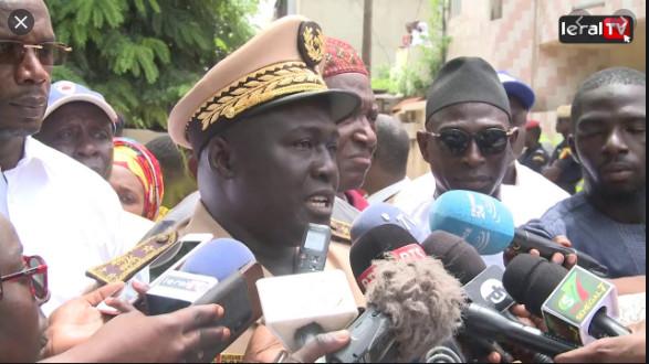 Atteinte à la liberté de presse: La CJRS indexe le préfet de Dakar