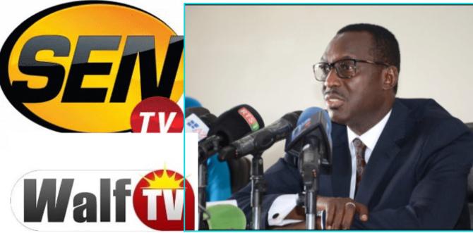Suspension des programmes de la SENTV et de WALFTV: Les explications du CNRA...