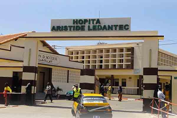Un décès de plus enregistré: Le corps du défunt à l'hôpital le Dantec