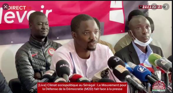 Marche: Mouvement pour la défense de la démocratie annonce un rassemblement samedi prochain