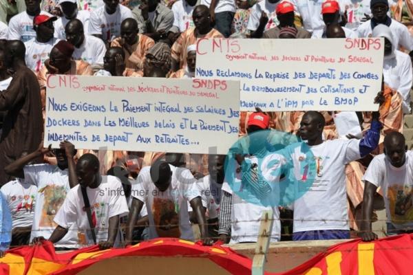 [Photos] 1er-Mai : Mary Teuw Niane et Mansour Sy au stade Iba Mar Diop