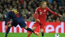 Robben met fin aux espoirs du Barça (0-1)