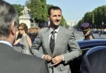 Syrie: rare apparition de Bachar al-Assad dans le centre de Damas