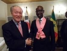 L'Ambassadeur Amadou DABO élevé au rang de Grand-Croix de l'Ordre du Mérite Diplomatique Coréen