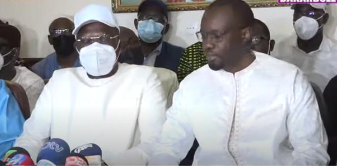 Face à Macky Sall: Ousmane Sonko réclame un collectif fort de l'opposition
