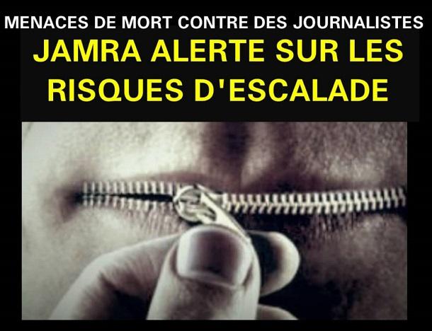 Menaces de mort contre des journalistes : Jamra alerte sur «les risques d'escalade»