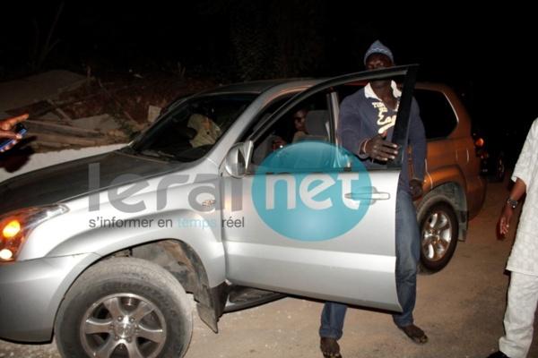 [Photos] Cheikh Amar a tenu sa promesse: Malick Niang tient son 4x4