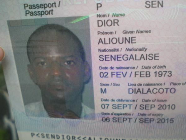 Monsieur DIOR Alioune, a disparu depuis le 4 mai à 20 h de son domicile au PE.