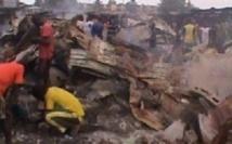 Un incendie au Parc Lambaye de Pikine fait d'importants dégâts matériels