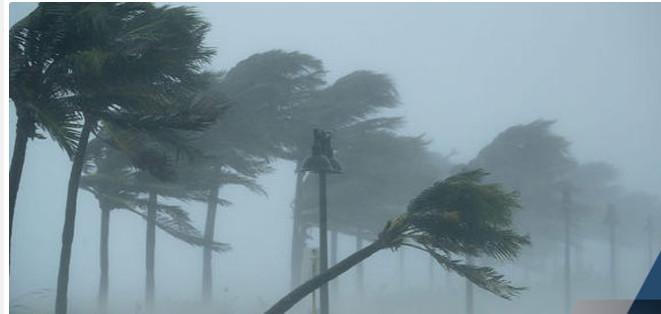 Alerte à un vent fort et une houle dangereuse (ANACIM)