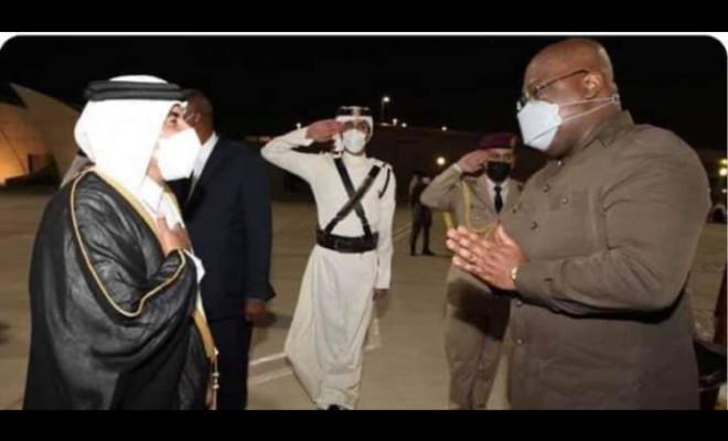 RDC / Félix Tshisekedi au Qatar: Un voyage bouclé et préparé par Karim Wade. EXCLUSIF