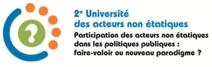 L'amélioration des politiques publiques au cœur de la 2ème université des acteurs non étatiques