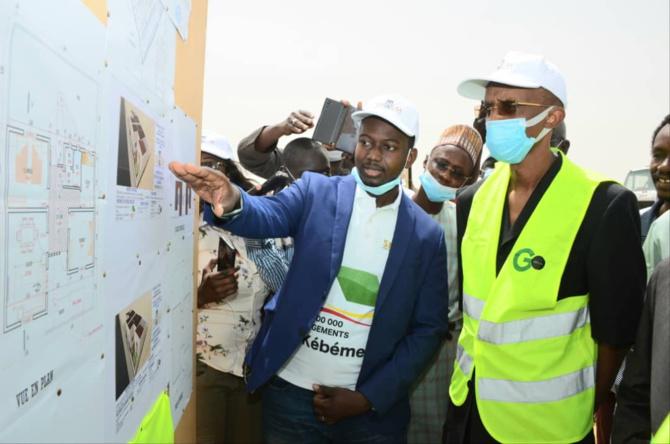 PROGRAMME 100 000 LOGEMENTS: Abdoulaye Saydou Sow lance le projet à Kébémer avec 300 unités de la SN HLM